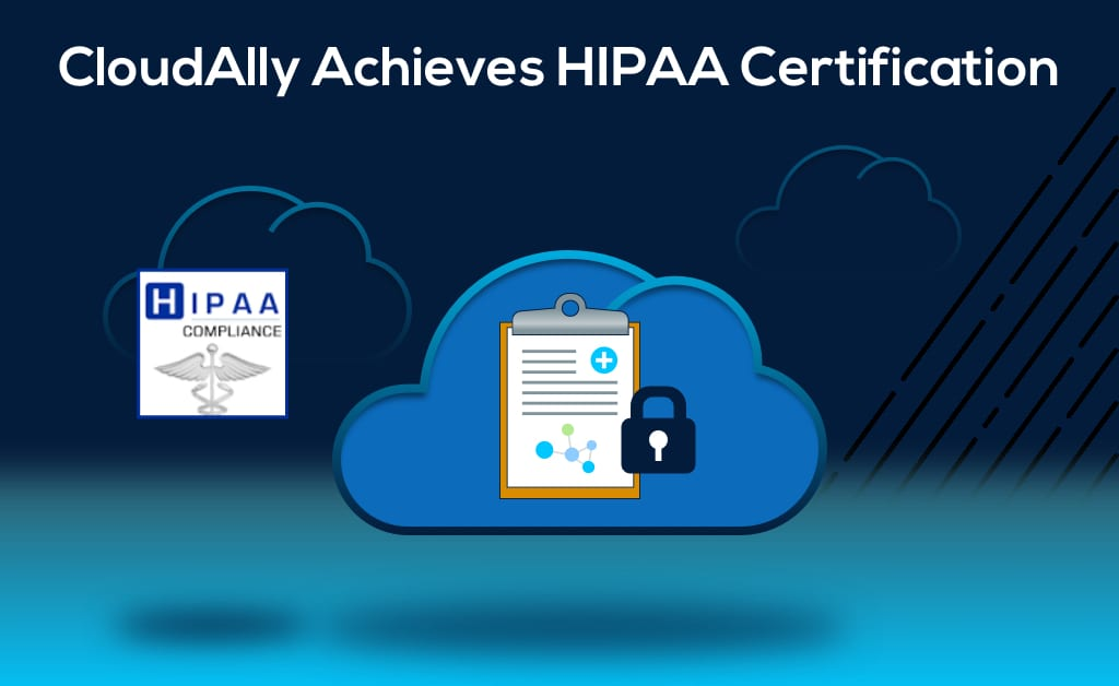 HIPAA Certification for cloud backup