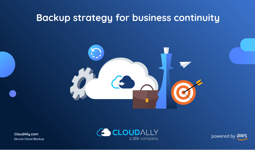 backup strategy for your business continuity