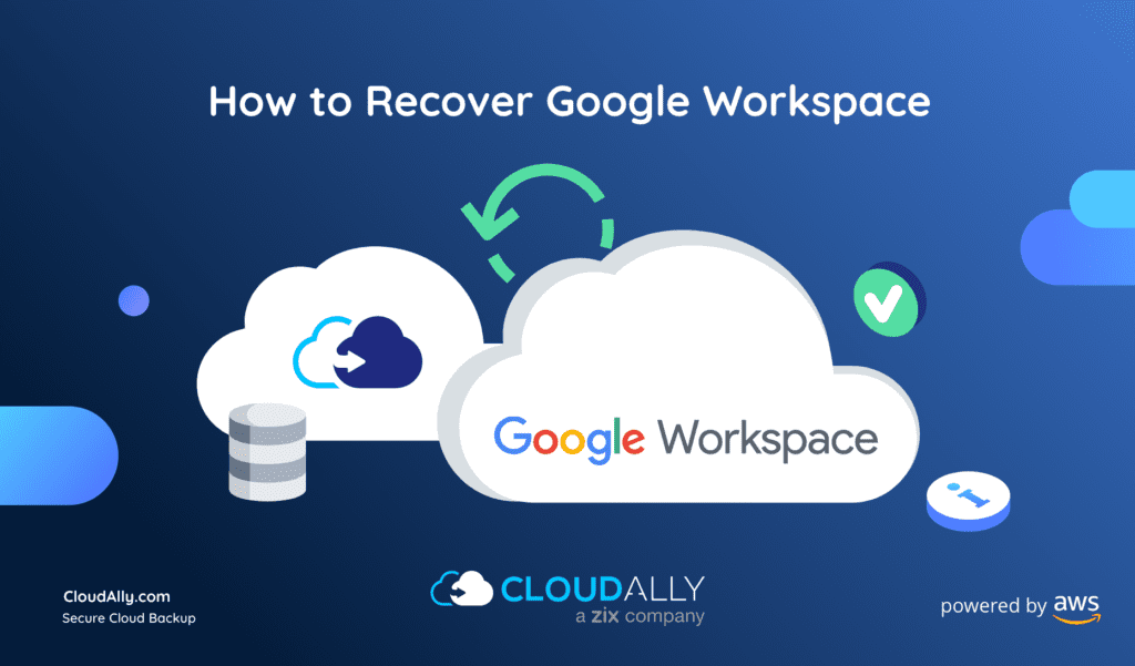 How to recover G Suite (Google Apps)?