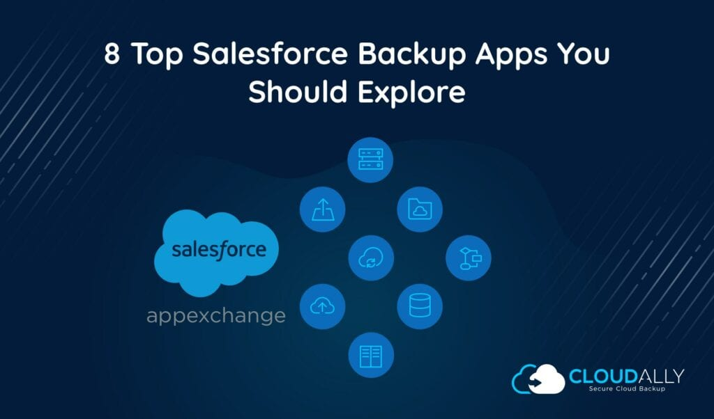salesforce backup apps