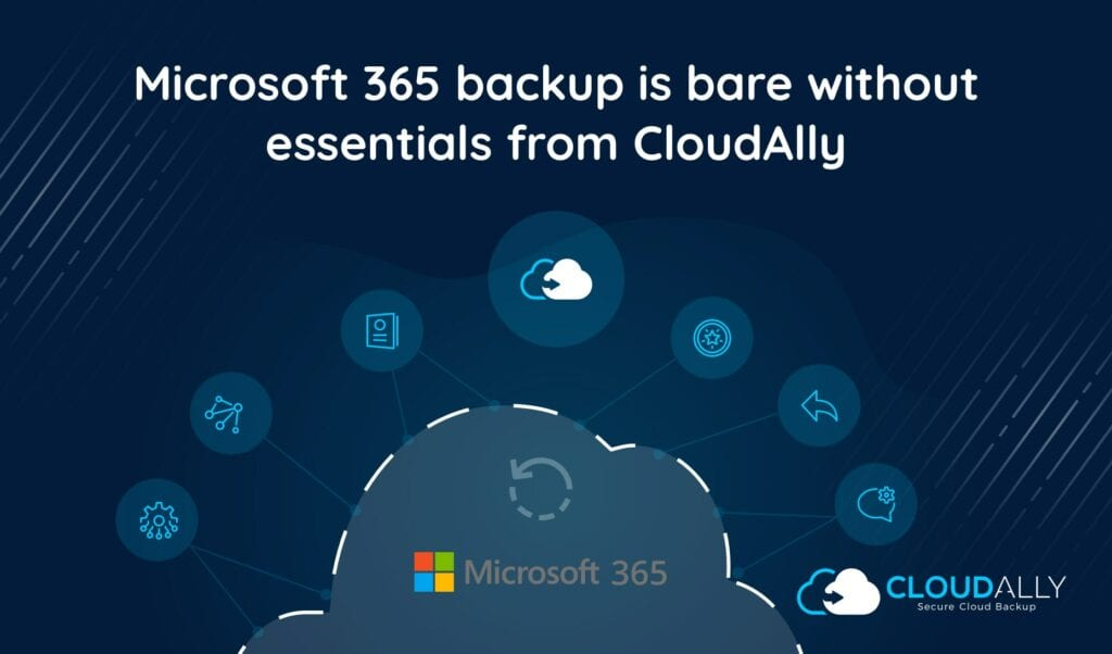 Office 365 cloud backup essentials