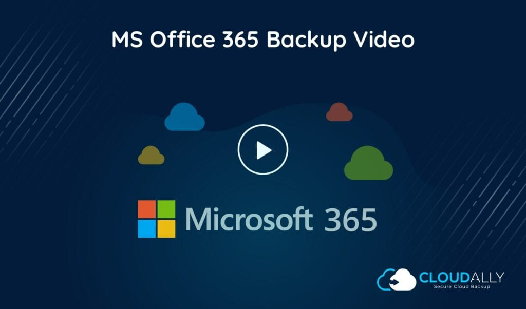 Office 365 Backup Video Demo