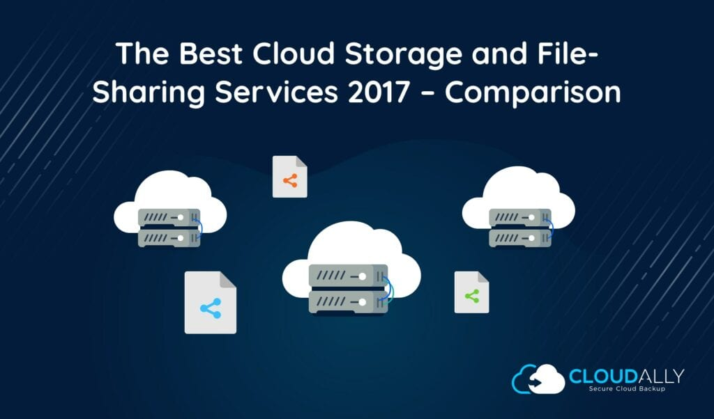 The Best Cloud Storage and File Sharing Services