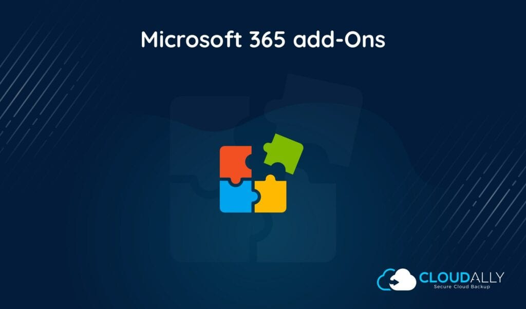 Office 365 backup add-Ons