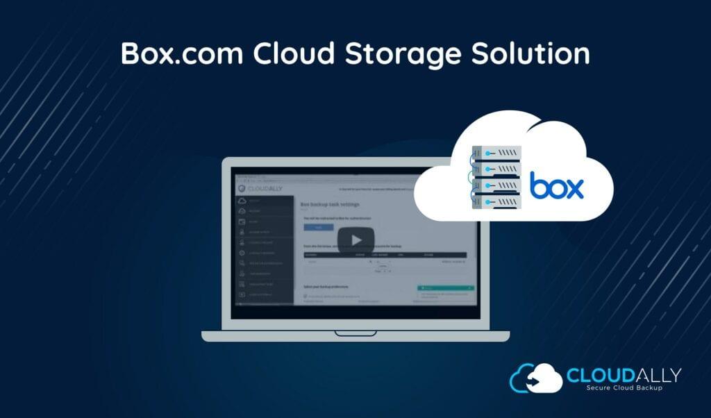 Box cloud storage solution