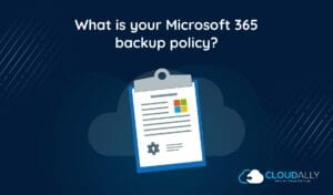 email backup policy
