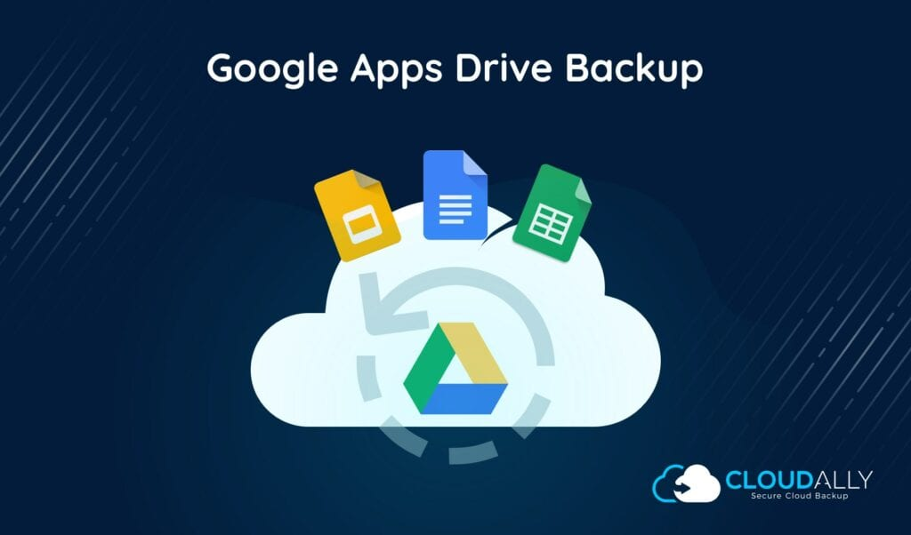 Google apps drive backup