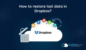 How to restore lost data in Dropbox?