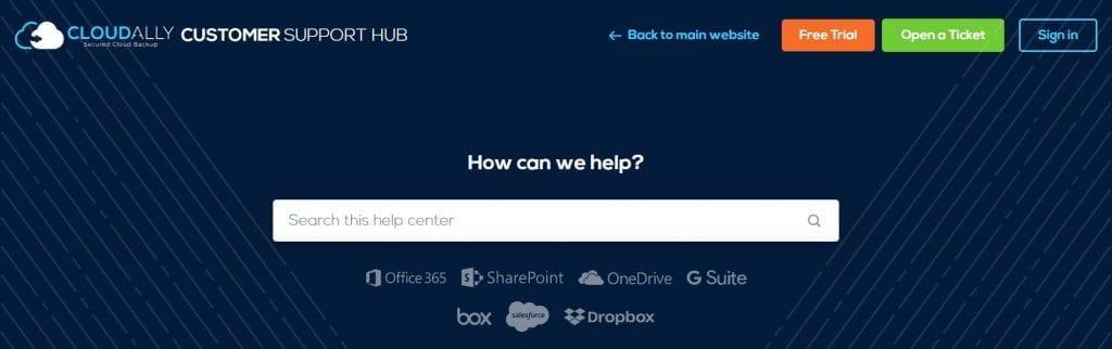 Customer Support Hub