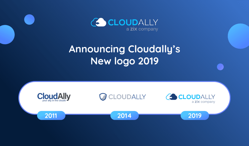 CloudAlly's New 2019 Logo