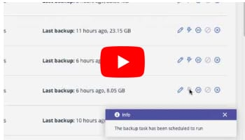 G suite Backup On-Demand