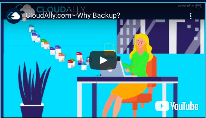 CloudAlly - why backup?