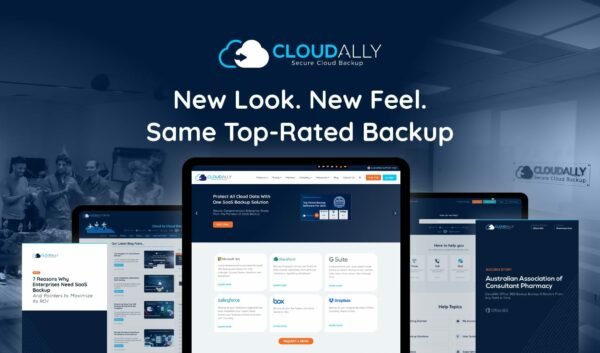 CloudAlly's Visual Brand Refresh