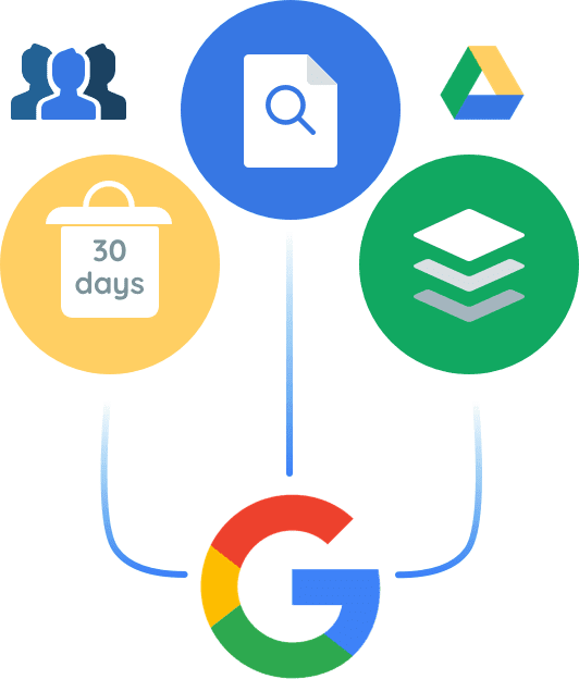 Google drive and native user