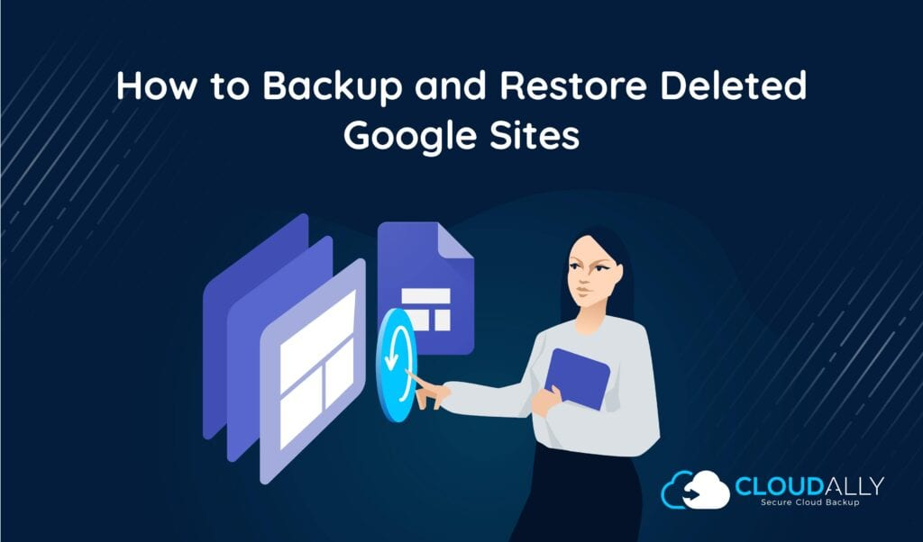 backup and restore deleted google sites