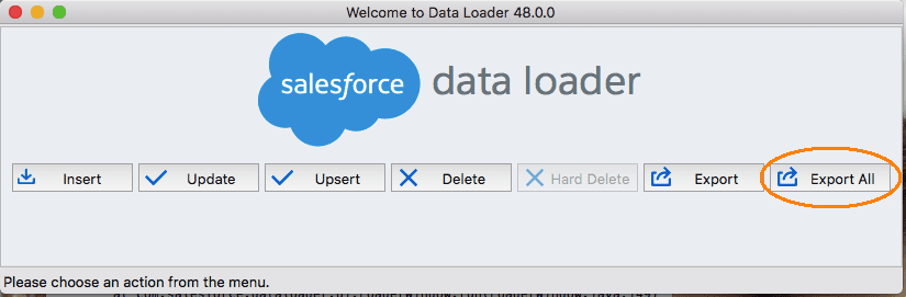 Salesforce Data Recovery: Data Loader Steps