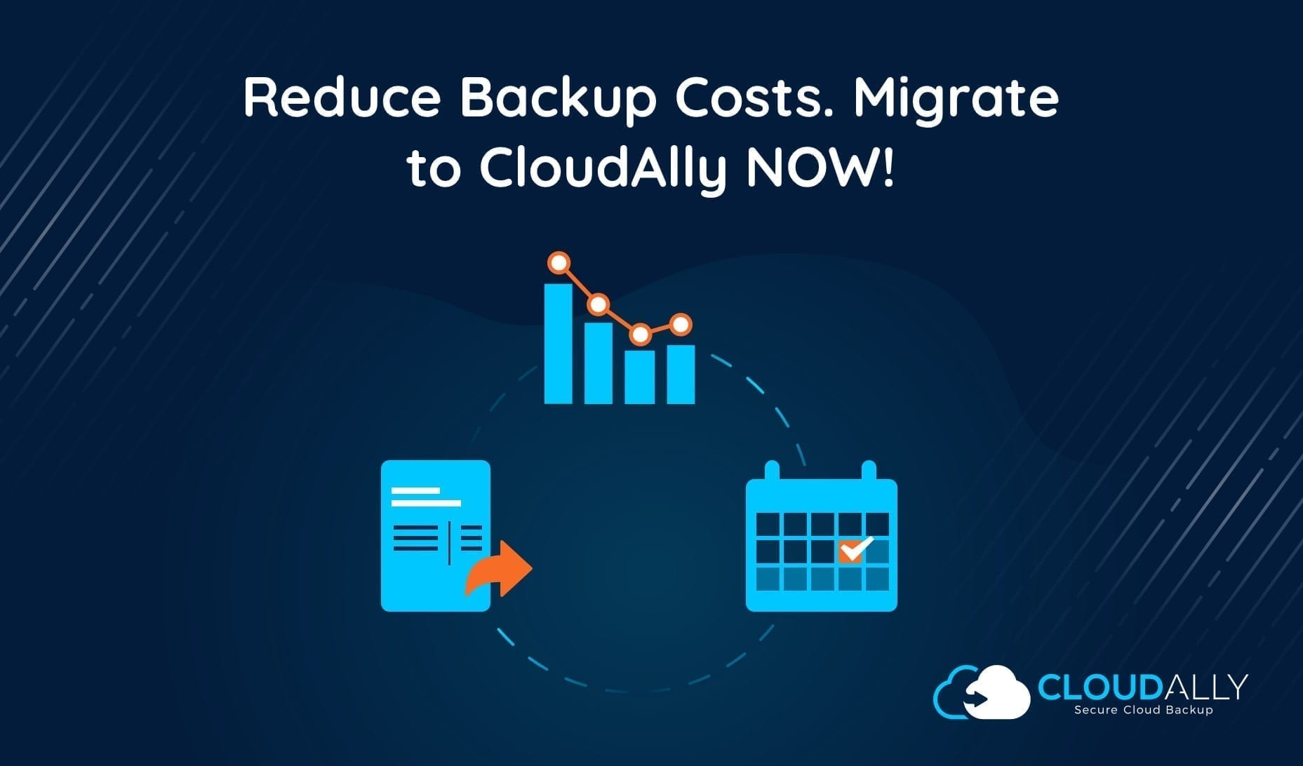 Migrate to CloudAlly Reduce Backup Costs