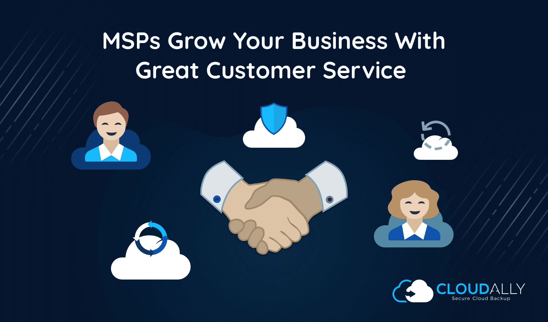 msps grow your business with great customer service/support