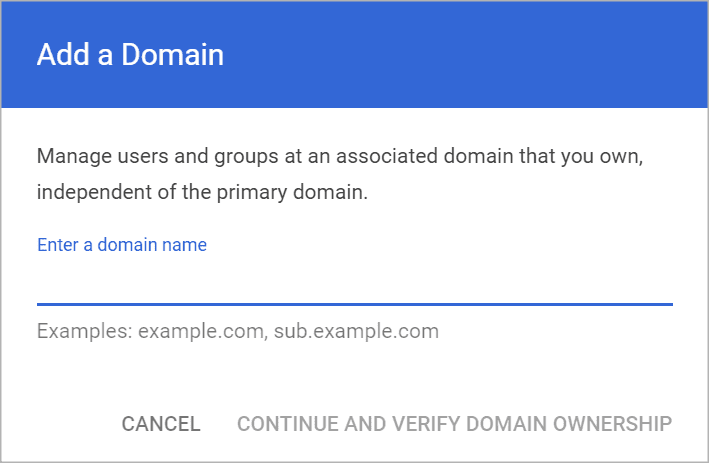 Add Domain: Migrating from G Suite to Office 365