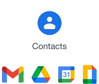 Backup for Google Contacts