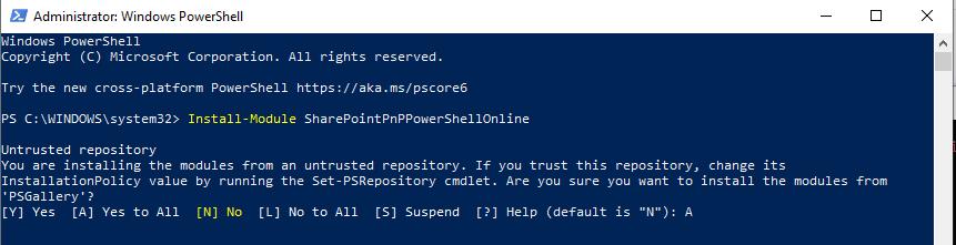 backup sharepoint site using powershell