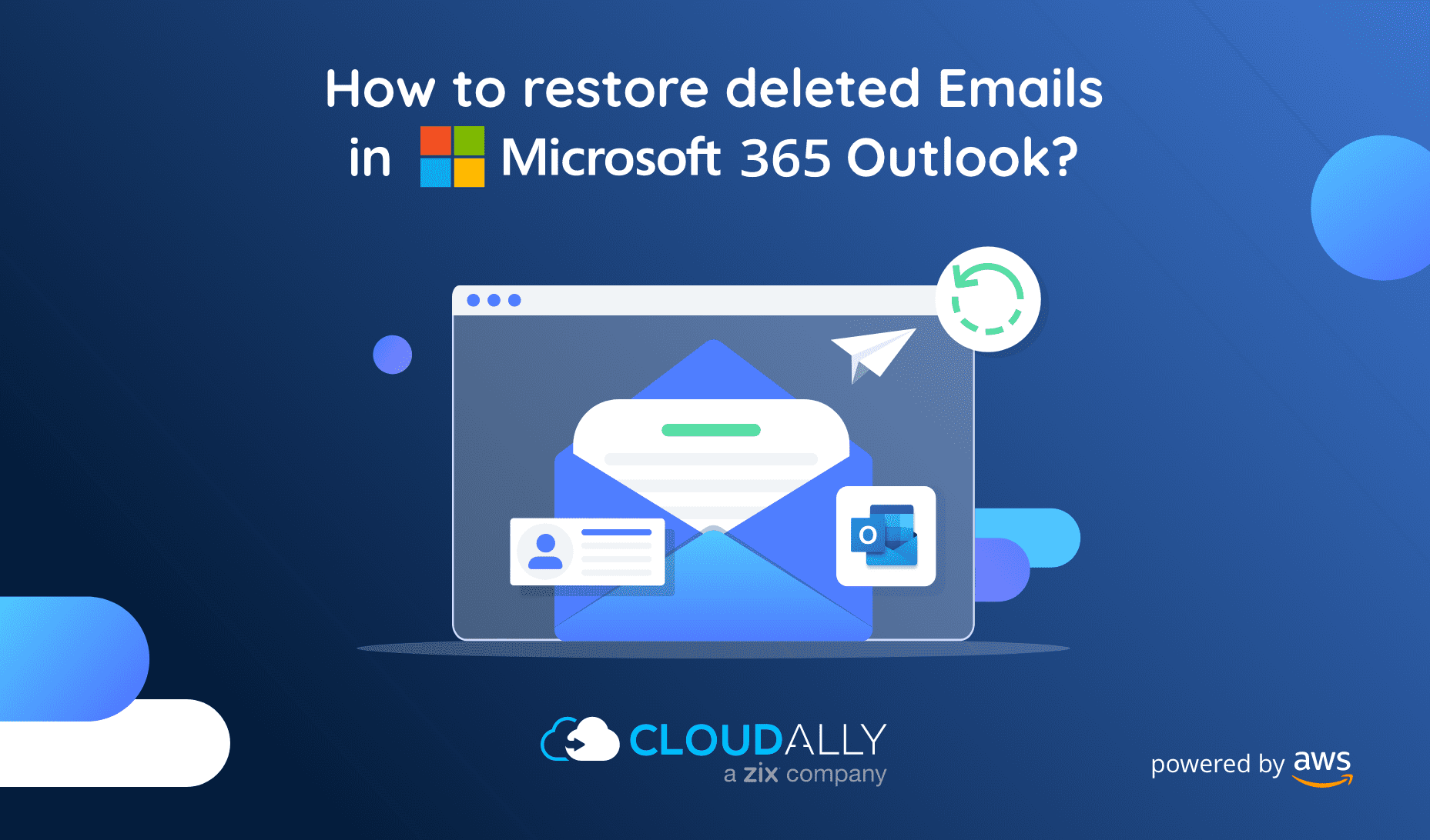 To Restore deleted emails in MS Outlook