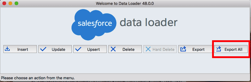 recover deleted salesforce objects - data loader
